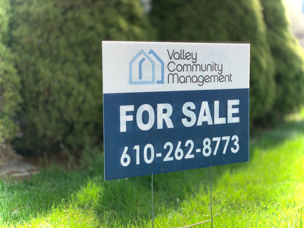 Valley Community Management For Sale Sign