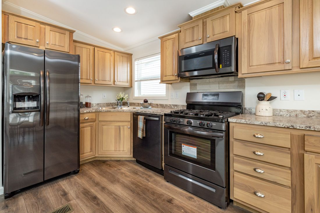 Custom Home kitchen example