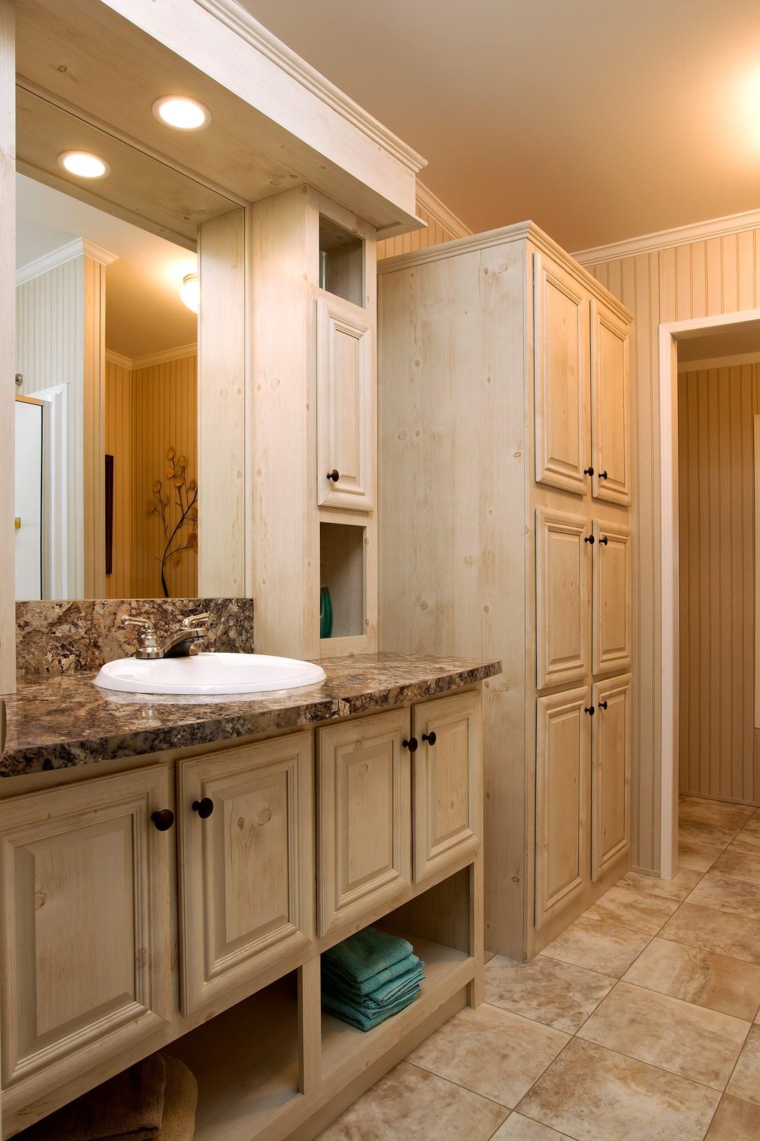 Custom Home bathroom photo