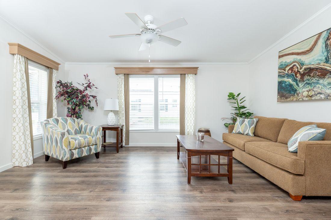 Living Room in a Custom Home